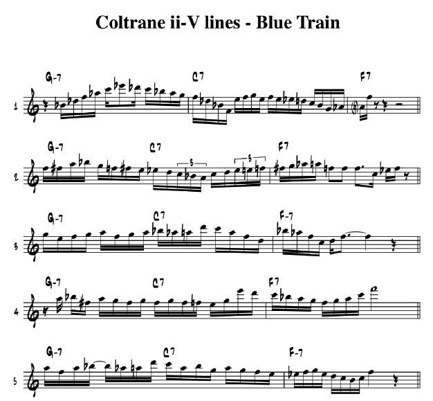 The Complete Transcription Process | David Liebman
