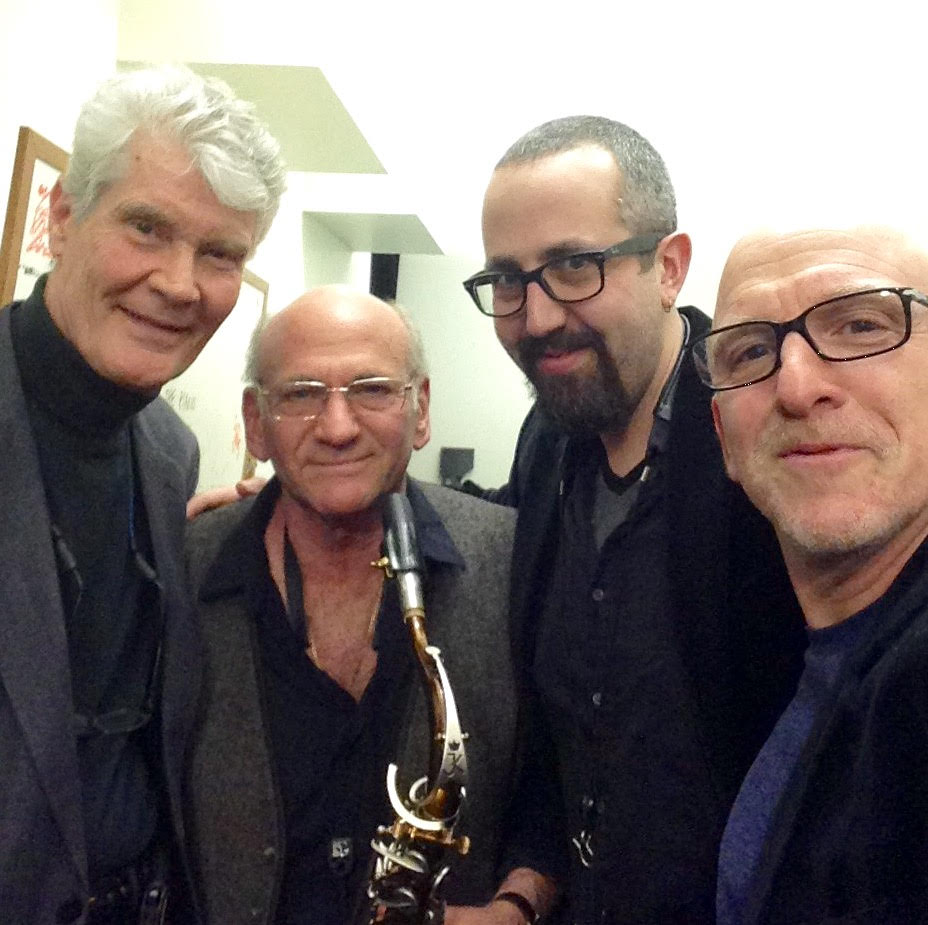 NEW LIGHT: Gene Perla, Dave Liebman, Adam Niedwood and Adam Nussbaum